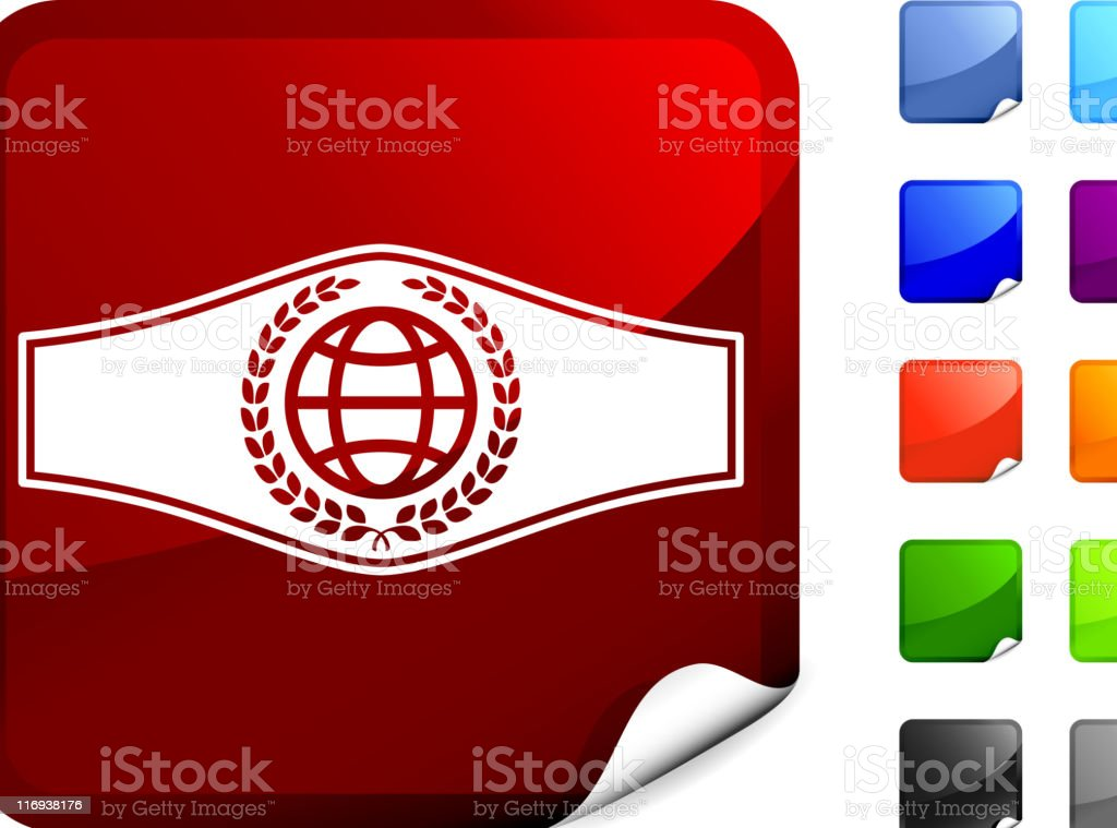 boxing championship belt internet royalty free vector art royalty-free stock vector art