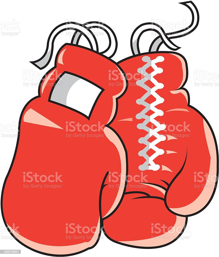 Boxing Gloves royalty-free stock vector art