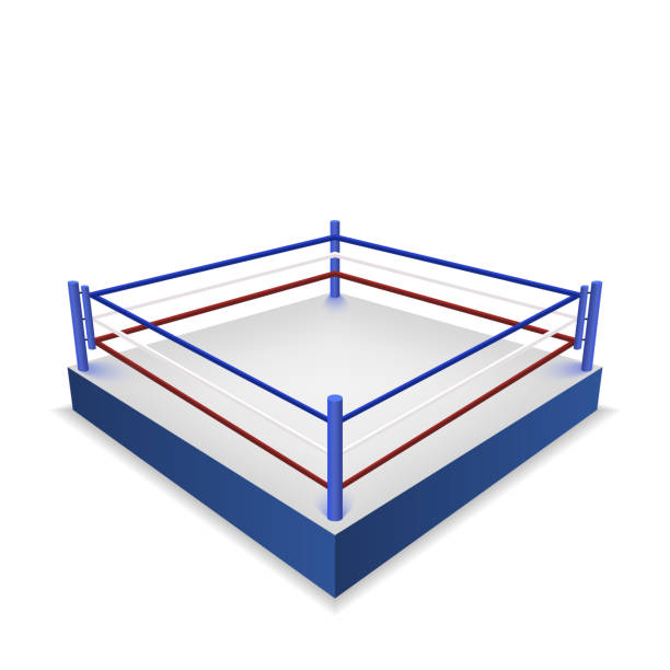 Ring De Boxeo Vector