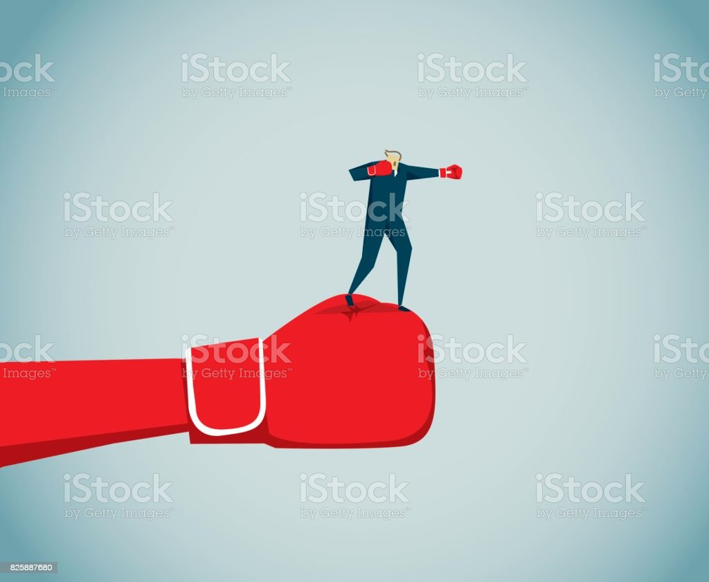 boxing – sport vector art illustration
