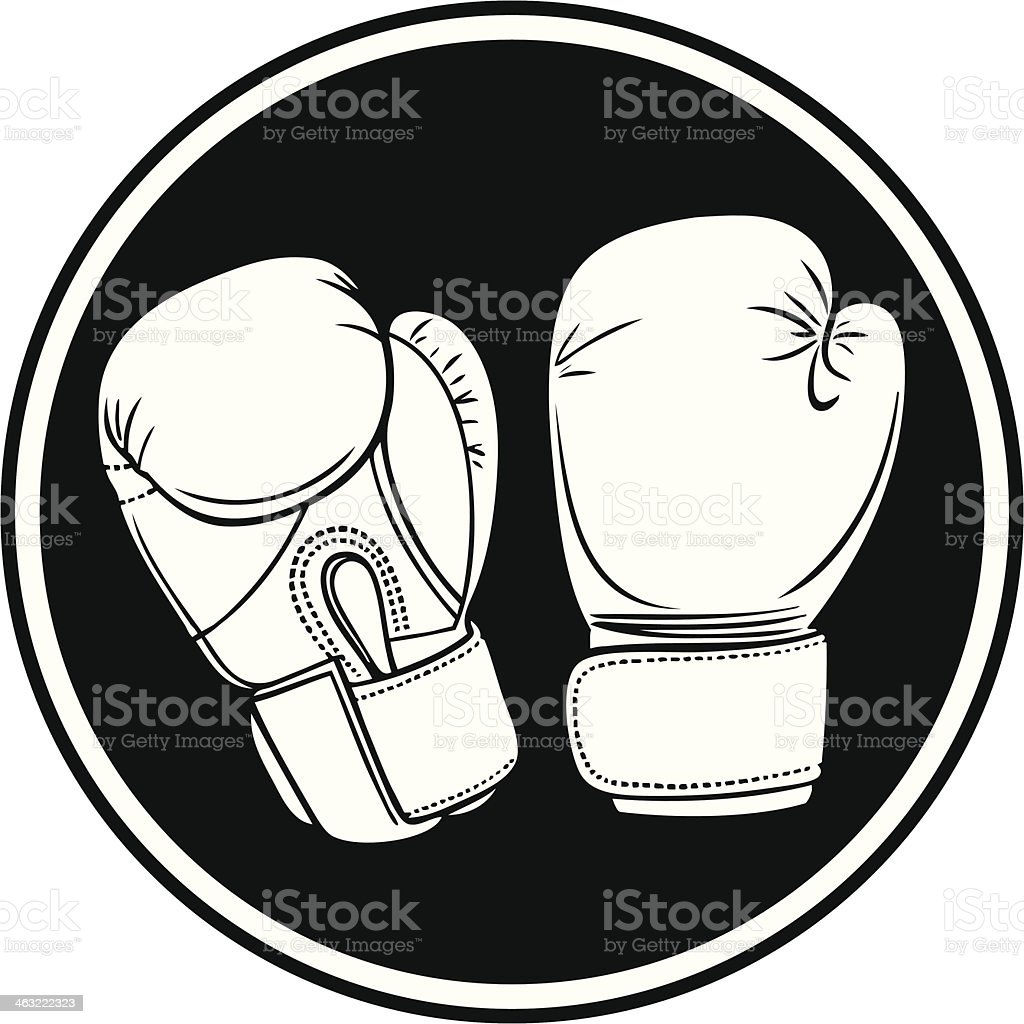 Boxing Symbol vector art illustration