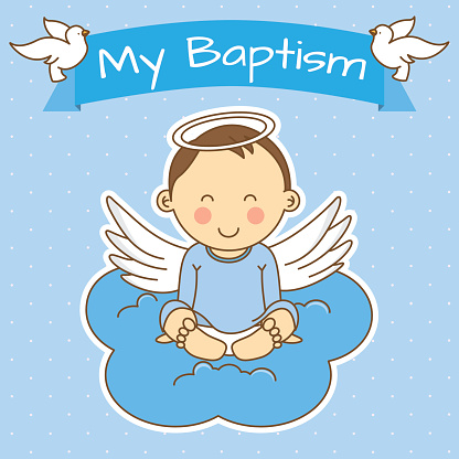 Baptism Clip Art, Vector Images & Illustrations - iStock