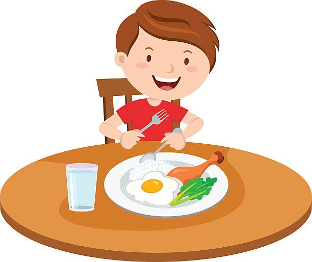 Eating Clip Art, Vector Images & Illustrations - iStock