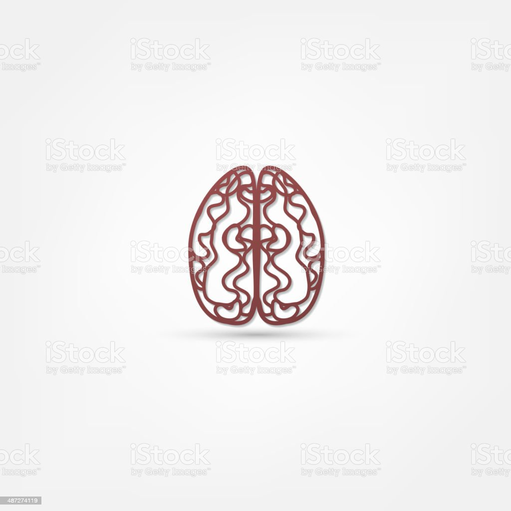 brain icon royalty-free stock vector art