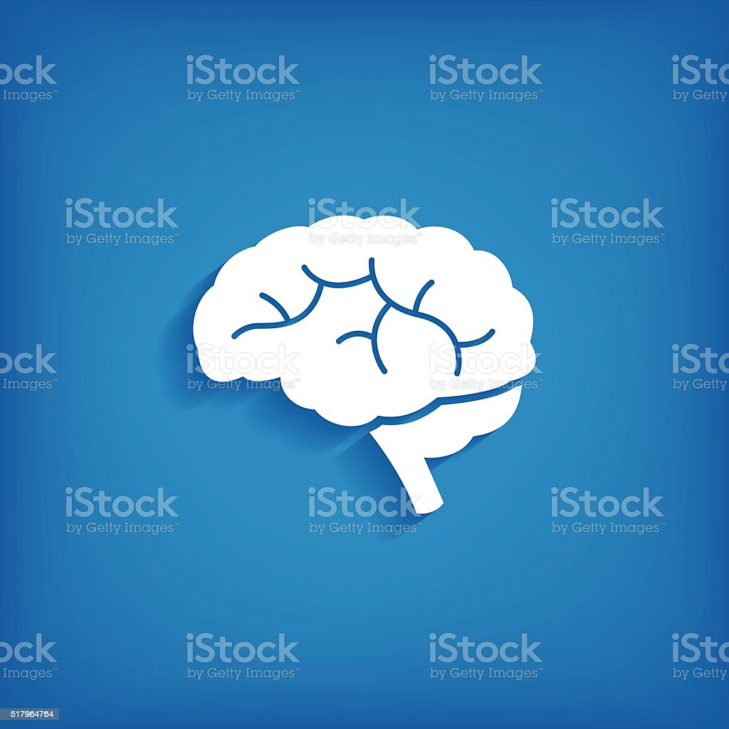 Brain Icon vector art illustration