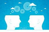 Brainstorming Gears Thinking People