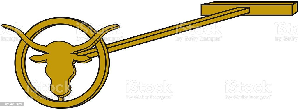Branding Iron royalty-free stock vector art