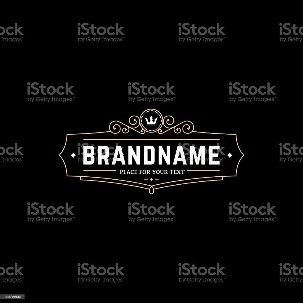 BrandnameBGG vector art illustration