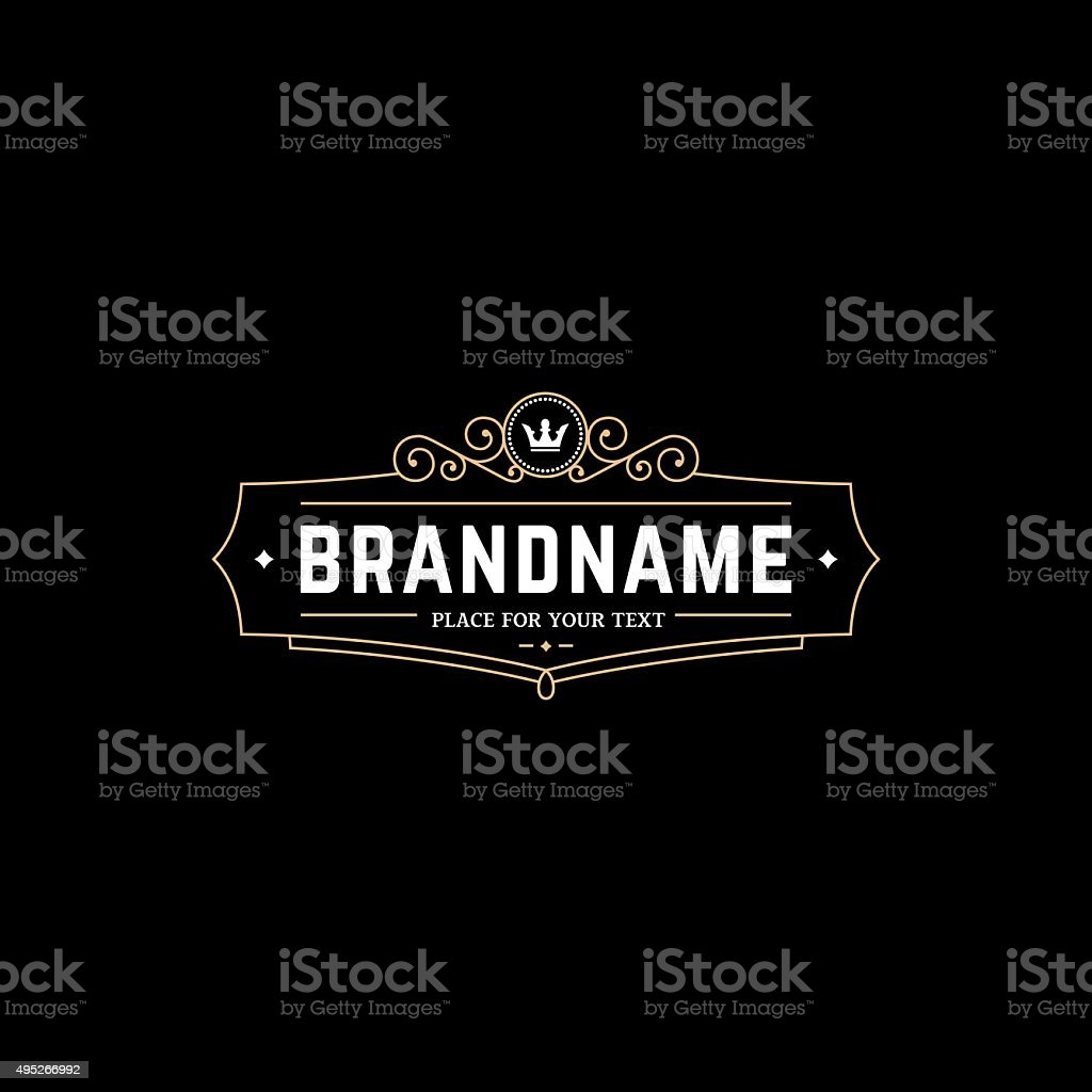 BrandnameBGG vector art illustration