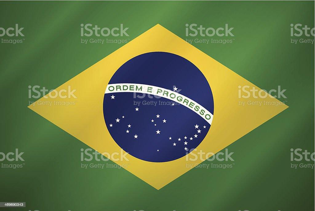 Brazil Flag royalty-free stock vector art