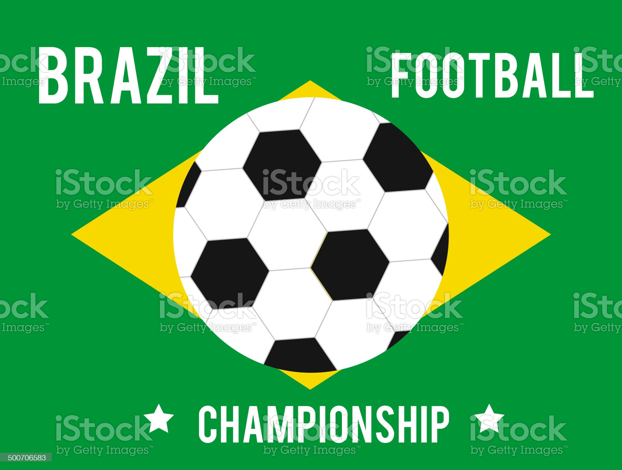 Brazil map in the colors of the flag royalty-free stock vector art