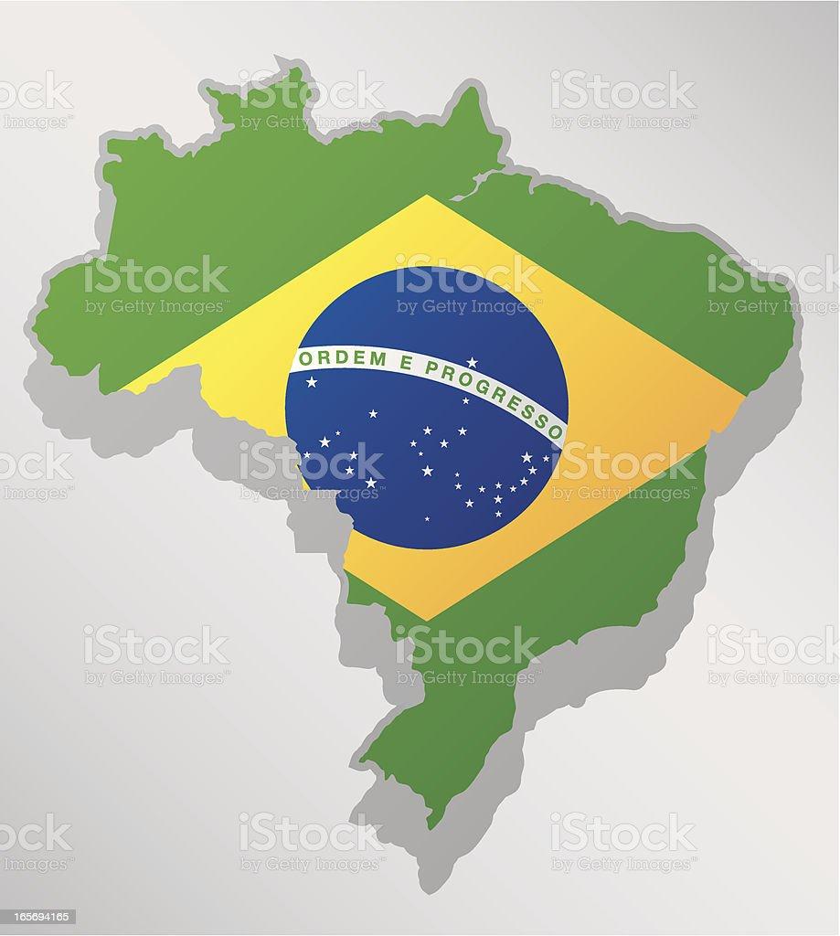 Brazil vector art illustration