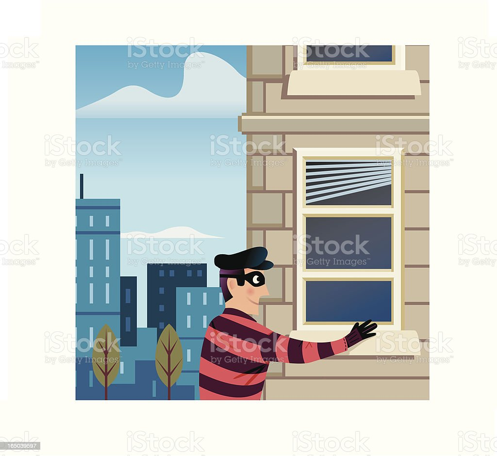 Break In royalty-free stock vector art