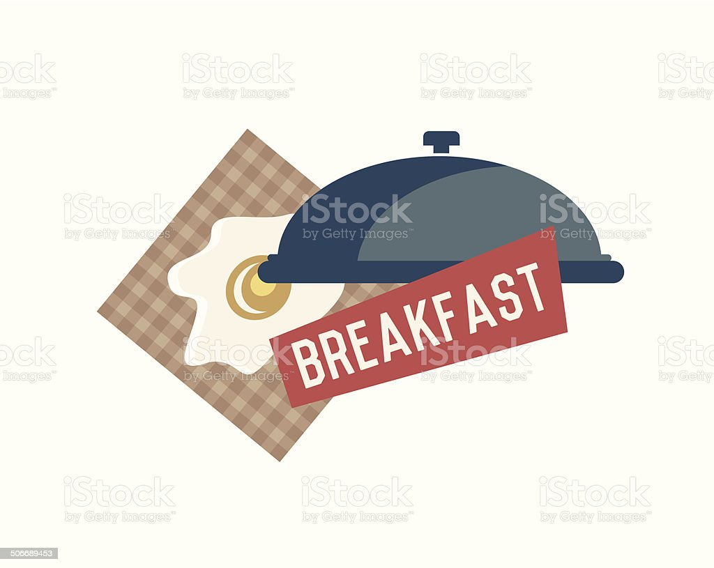 Breakfast concept design royalty-free stock vector art