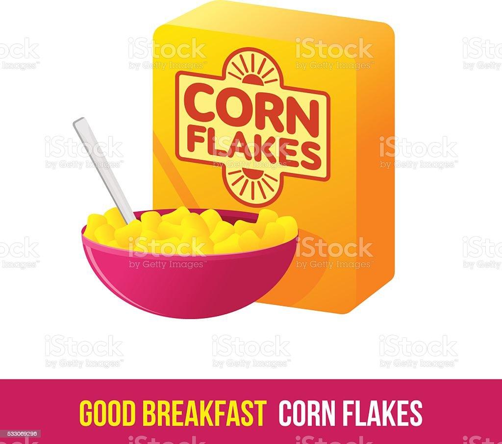 Breakfast icon. gradient. vector art illustration