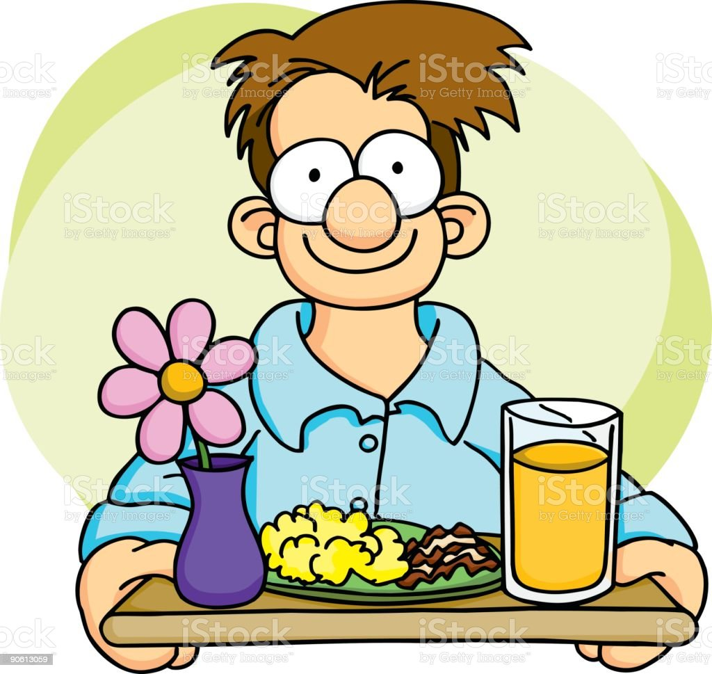 eggs and bacon breakfast on a tray clip art vector images rh istockphoto com Fighting Clip Art Cooking Dinner Clip Art