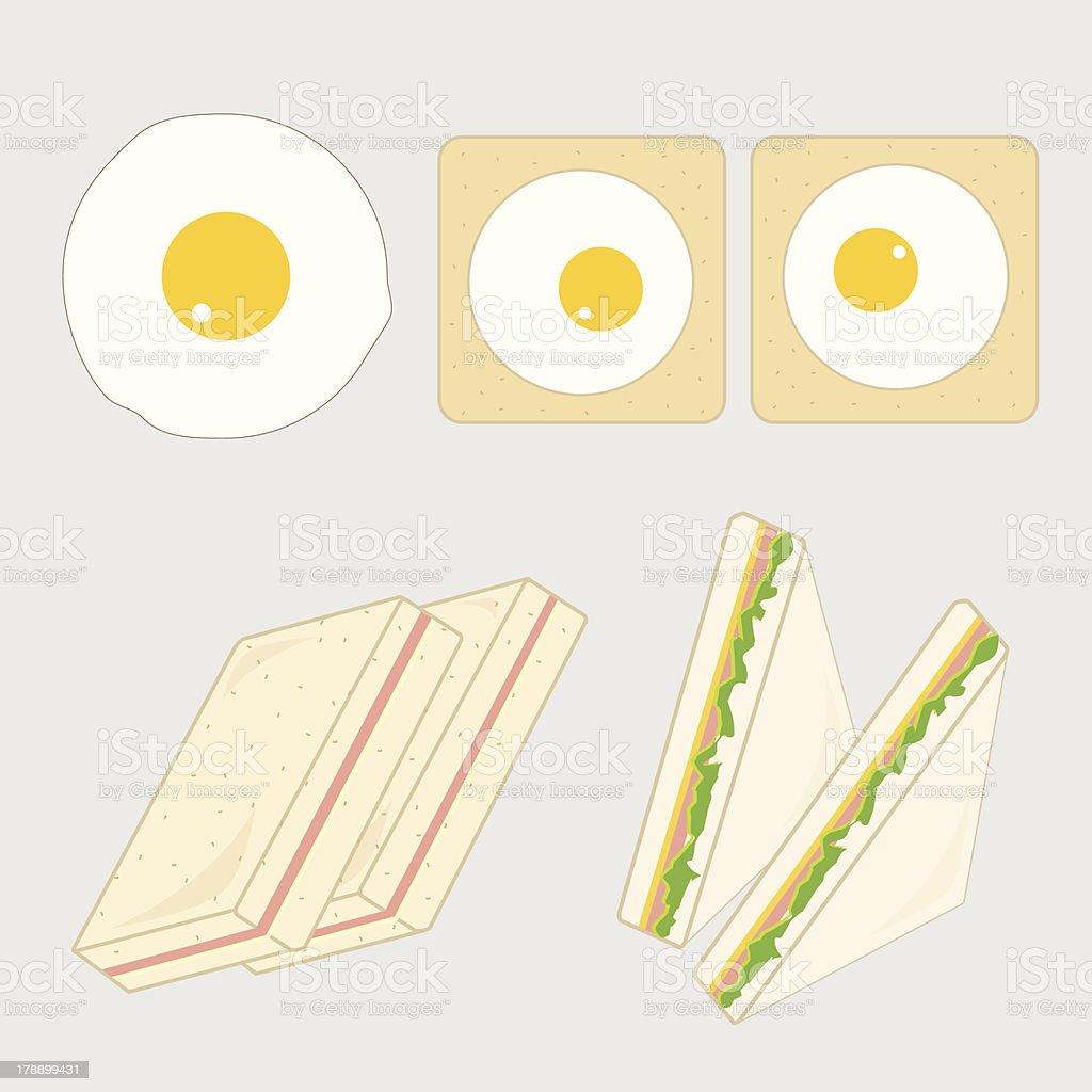 breakfast01 royalty-free stock vector art