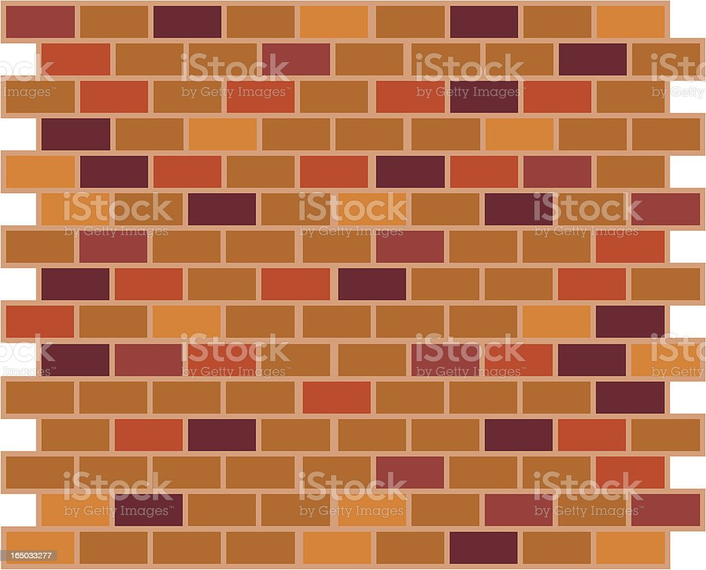 Brick Pattern royalty-free stock vector art