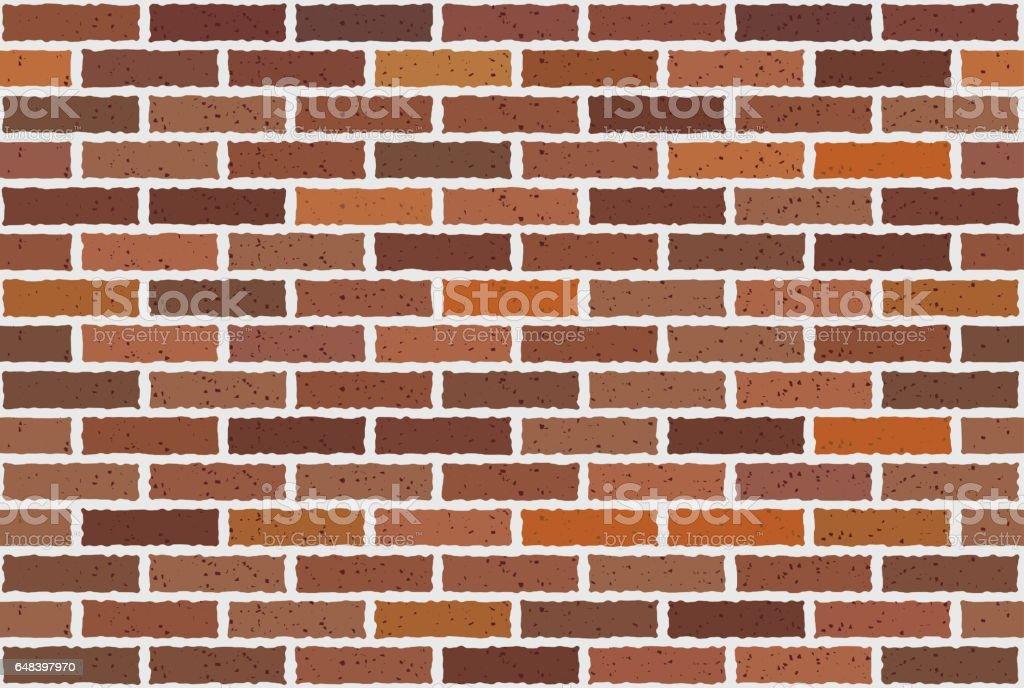 Brick vector art illustration