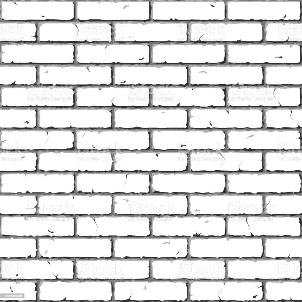 Brick Wall. Seamless. royalty-free stock vector art