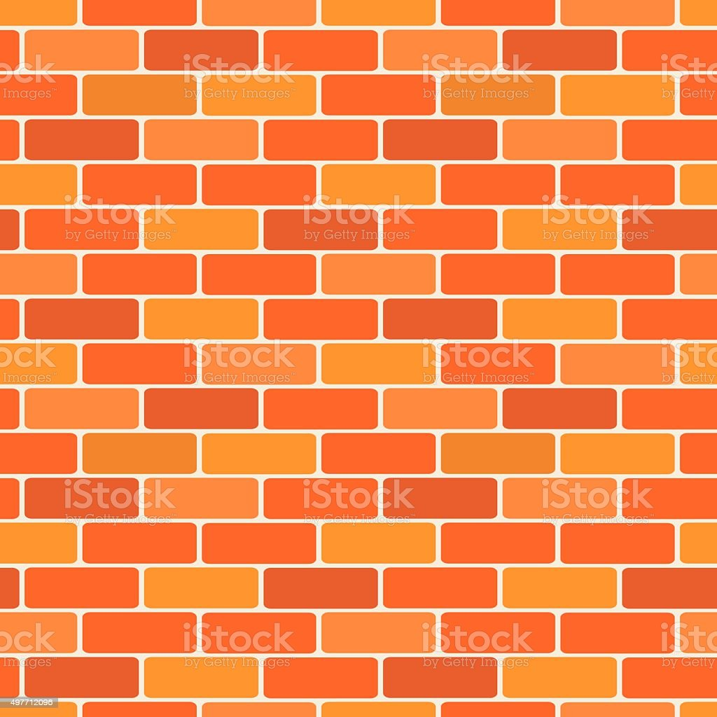 Brick wall vector vector art illustration