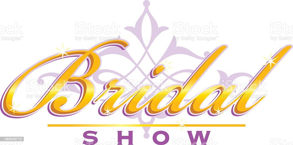 Bridal Show Heading C vector art illustration