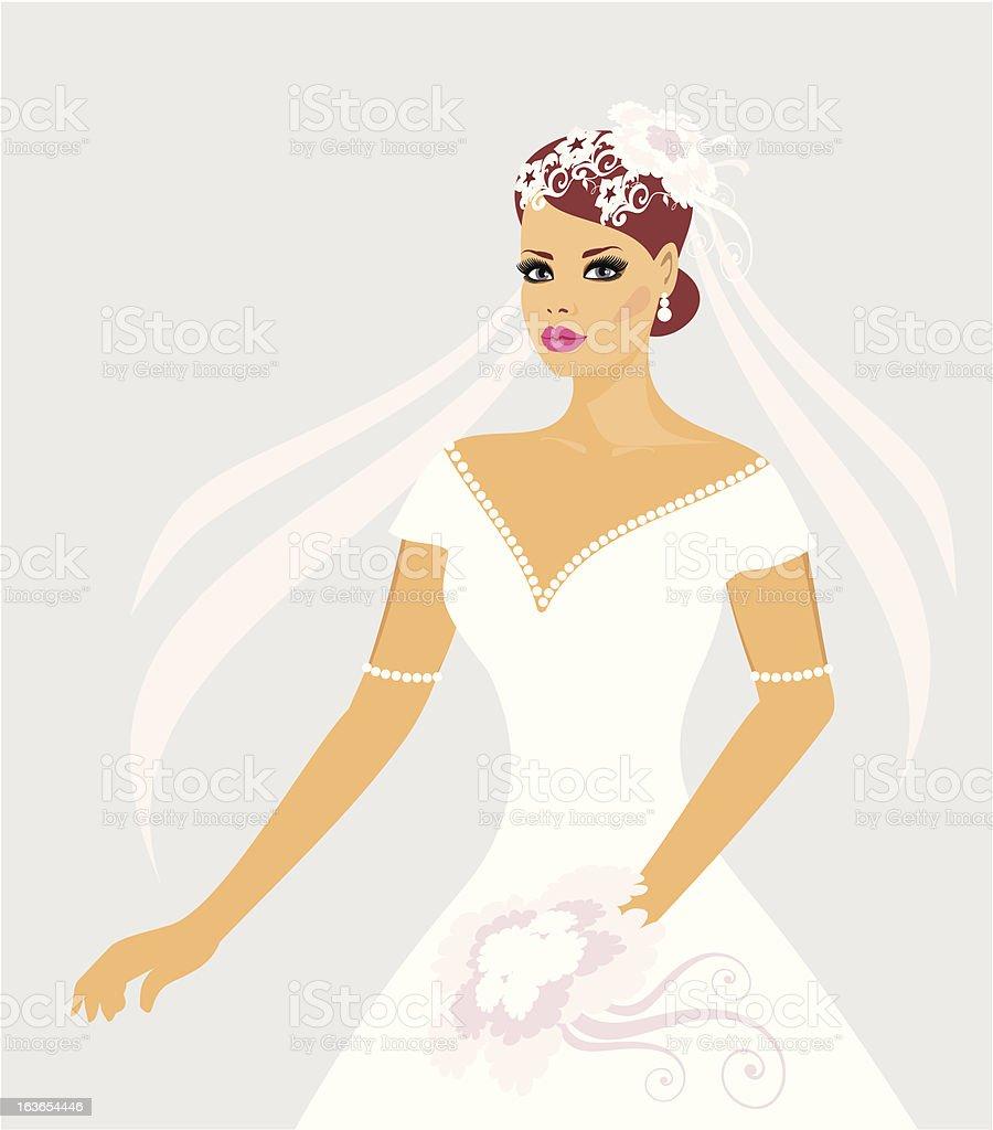 bride royalty-free stock vector art