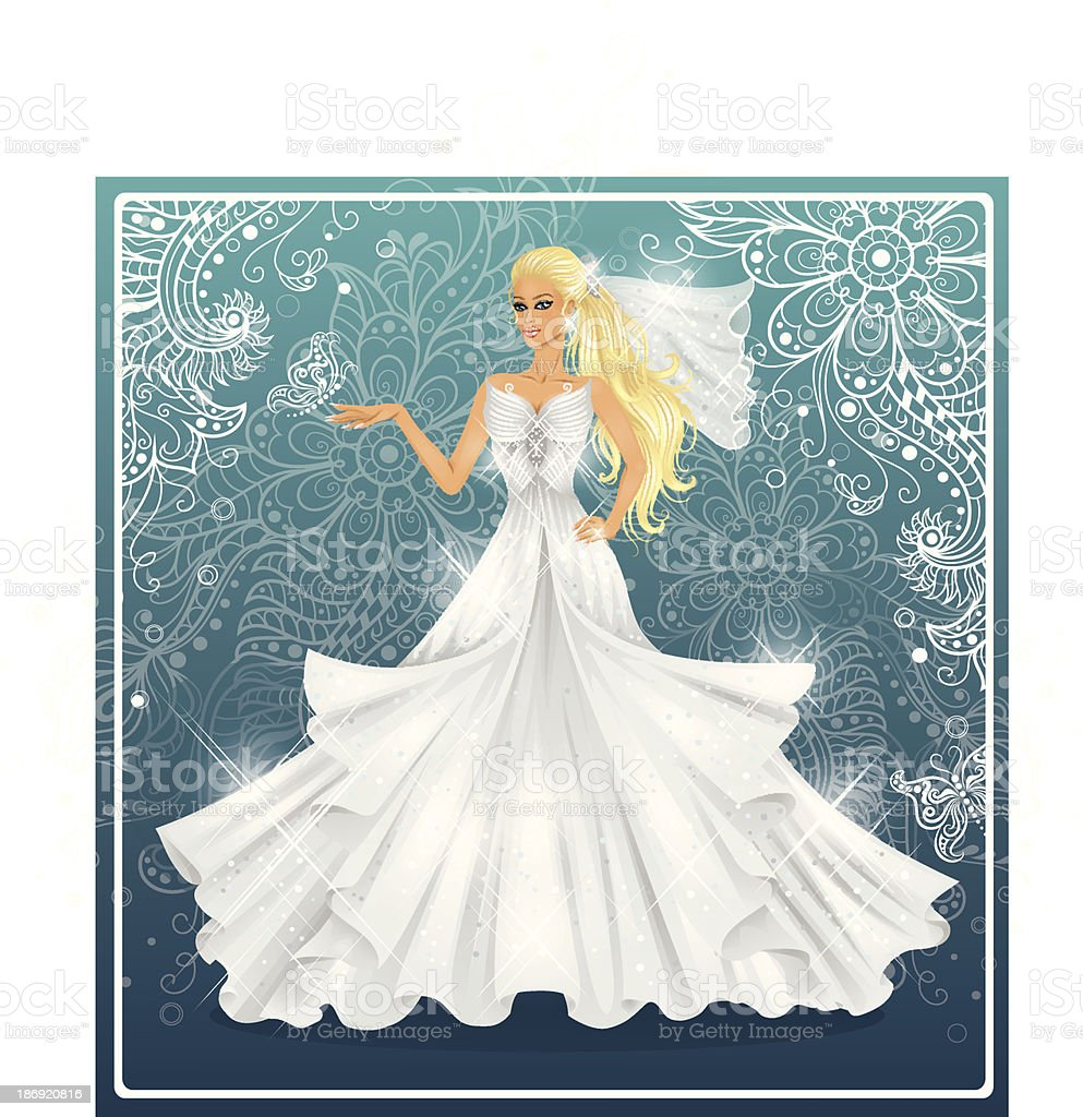 Bride. royalty-free stock vector art