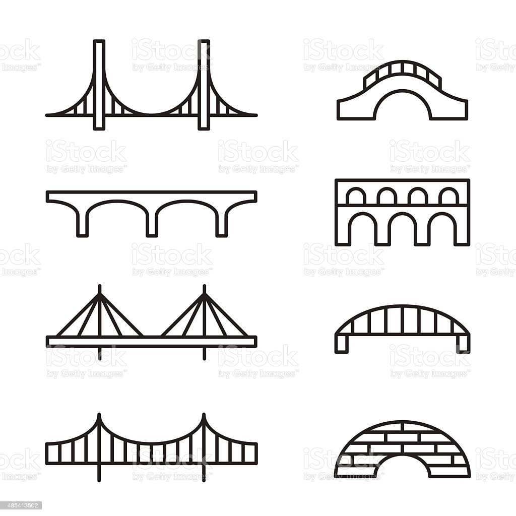 stone bridge clip art  vector images  u0026 illustrations