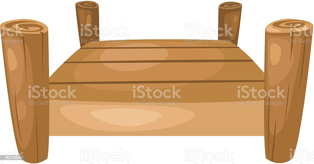 bridge. Vector royalty-free stock vector art