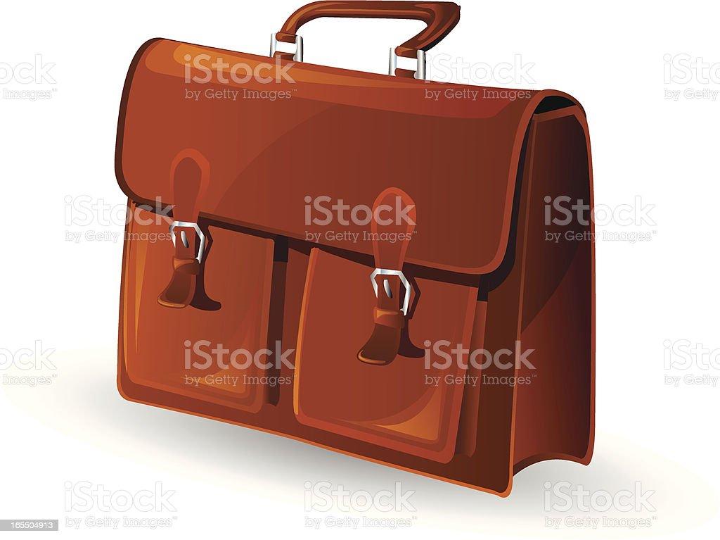 Briefcase royalty-free stock vector art