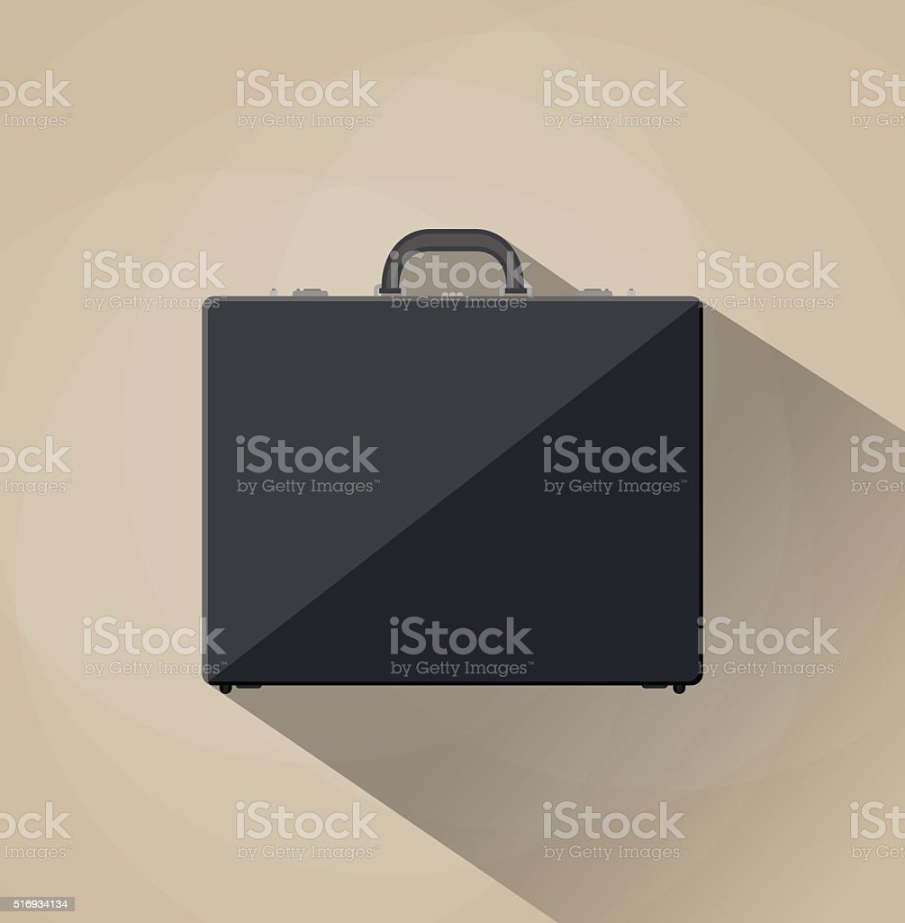 Briefcase vector illustration vector art illustration