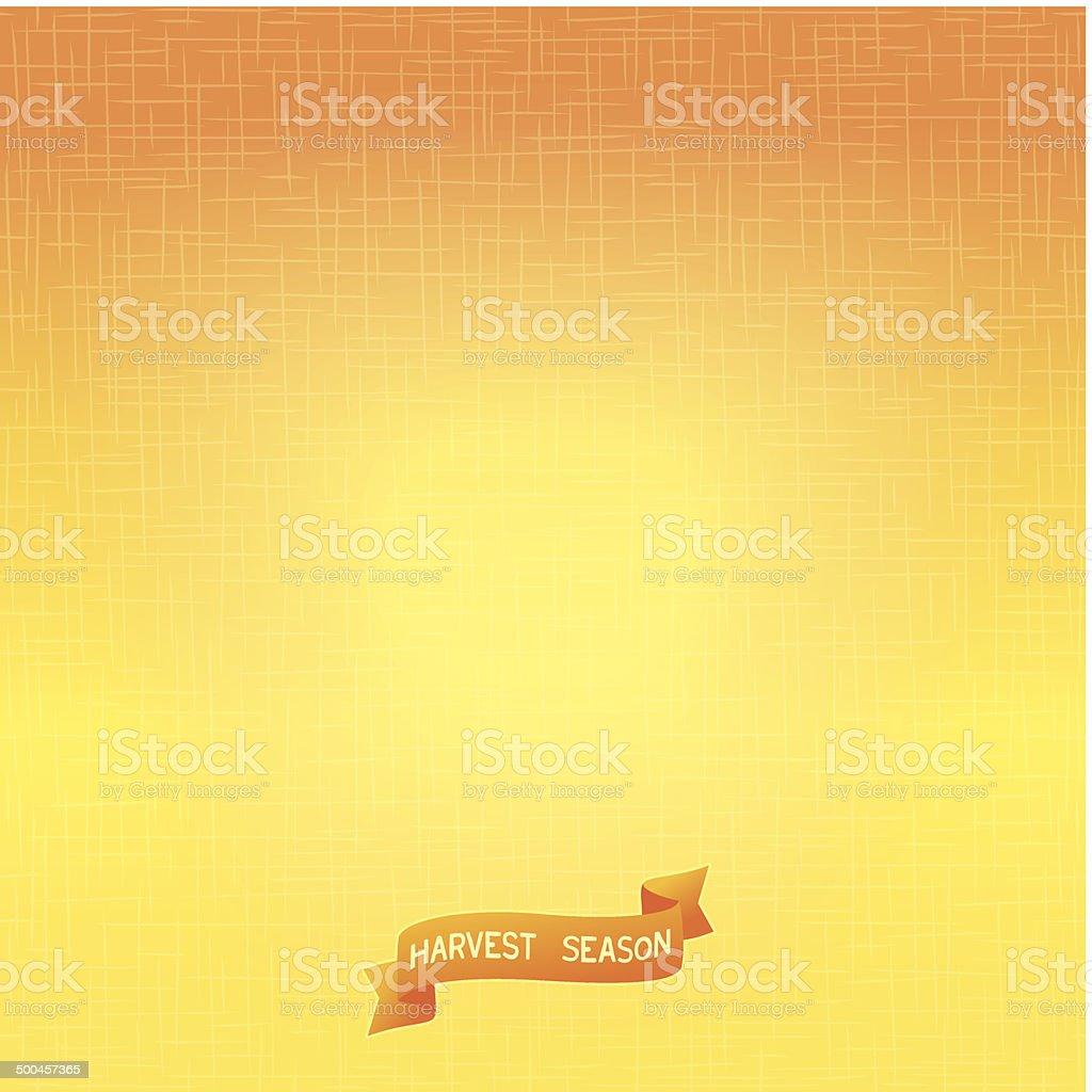 Bright autumn background vector art illustration