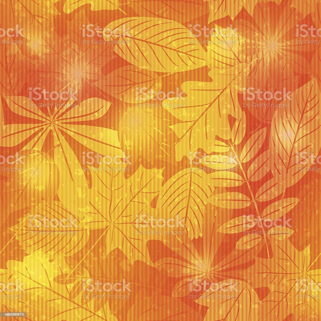 Bright autumn seamless pattern royalty-free stock vector art