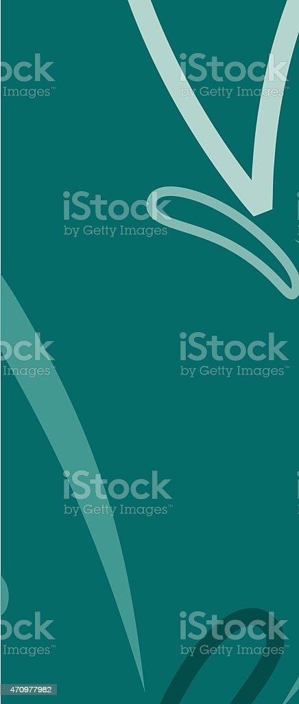 Bright Butterfly banner in vector format. vector art illustration