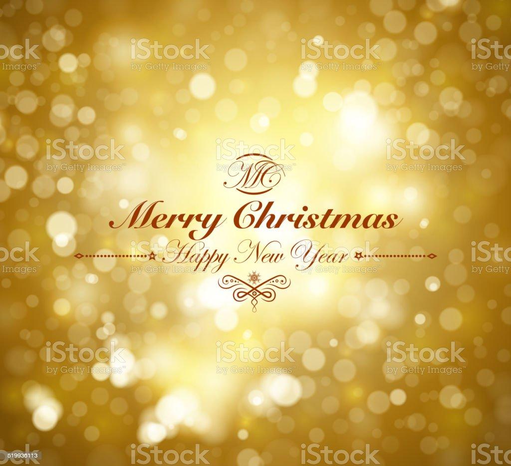 bright christmas background vector art illustration