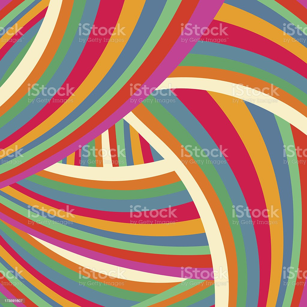 Bright colorful background like brush strokes vector art illustration