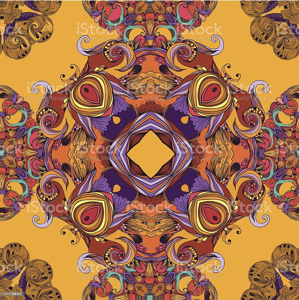Bright fall royalty-free stock vector art