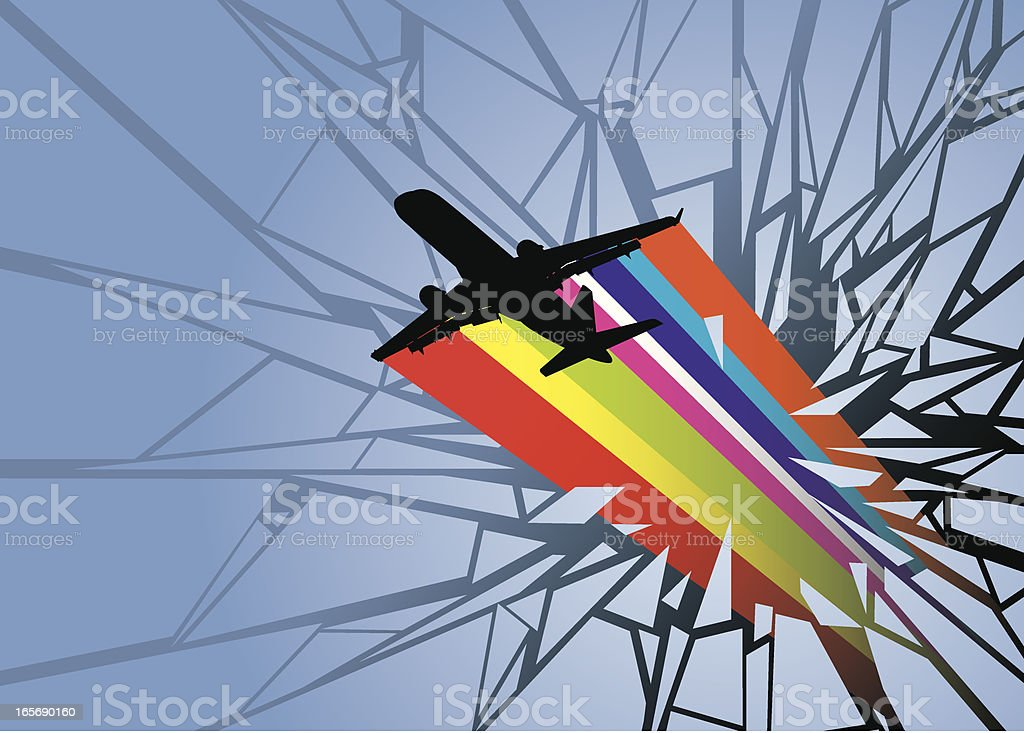 Bright Flight royalty-free stock vector art