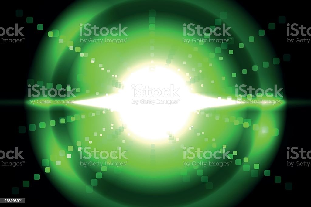 Bright green technology royalty-free stock vector art