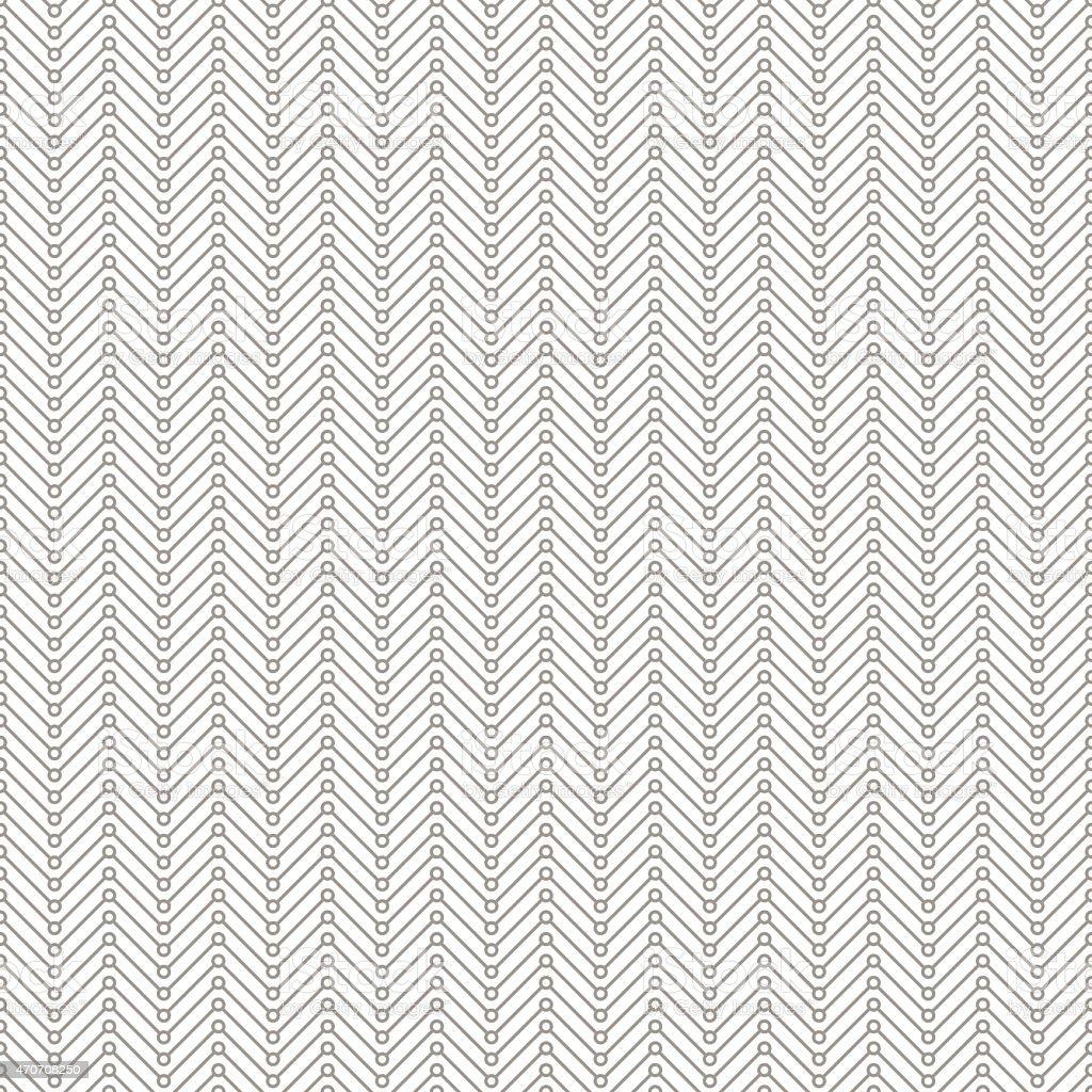 bright herringbone pattern with circles vector art illustration