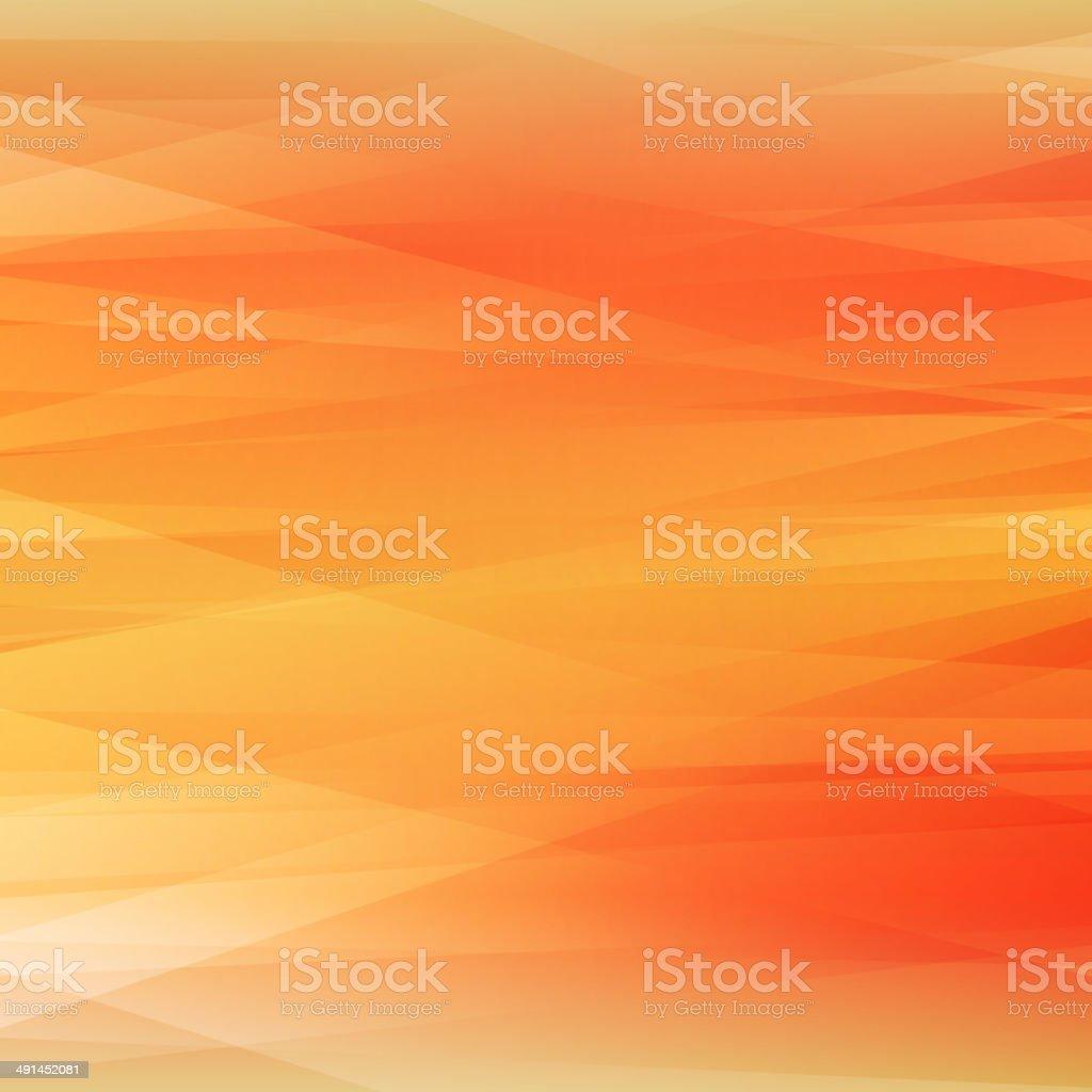Bright Orange Background vector art illustration