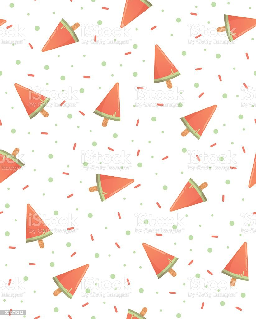Bright pattern of the candy store vector art illustration