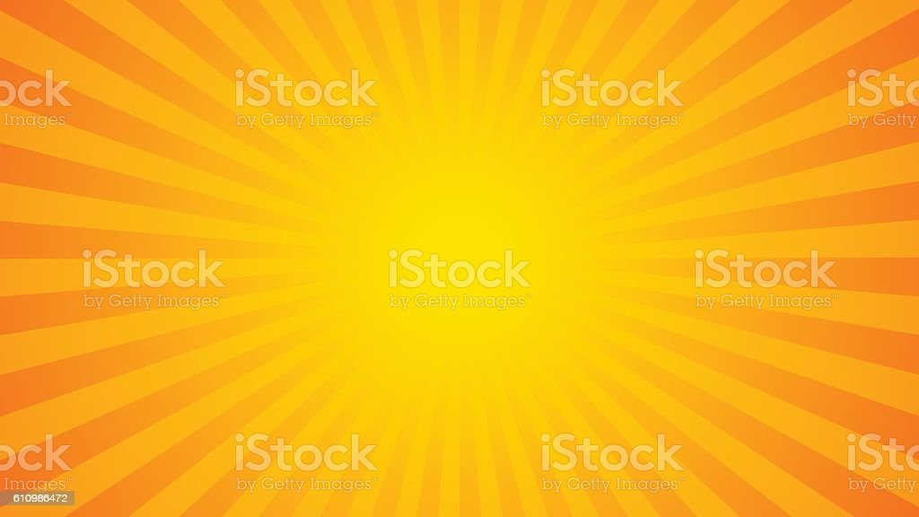 Bright rays background vector art illustration