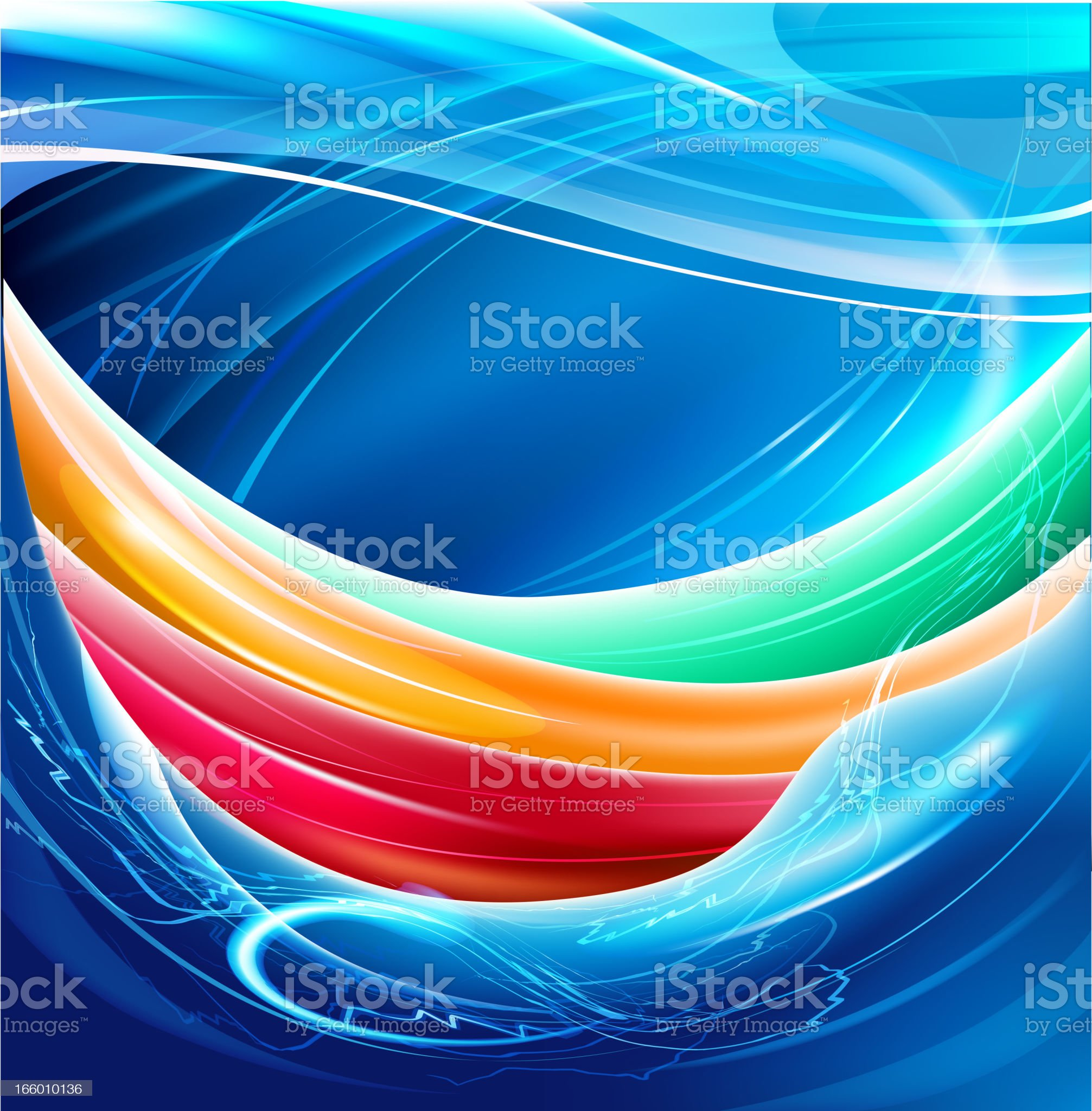 Bright splashy background royalty-free stock vector art