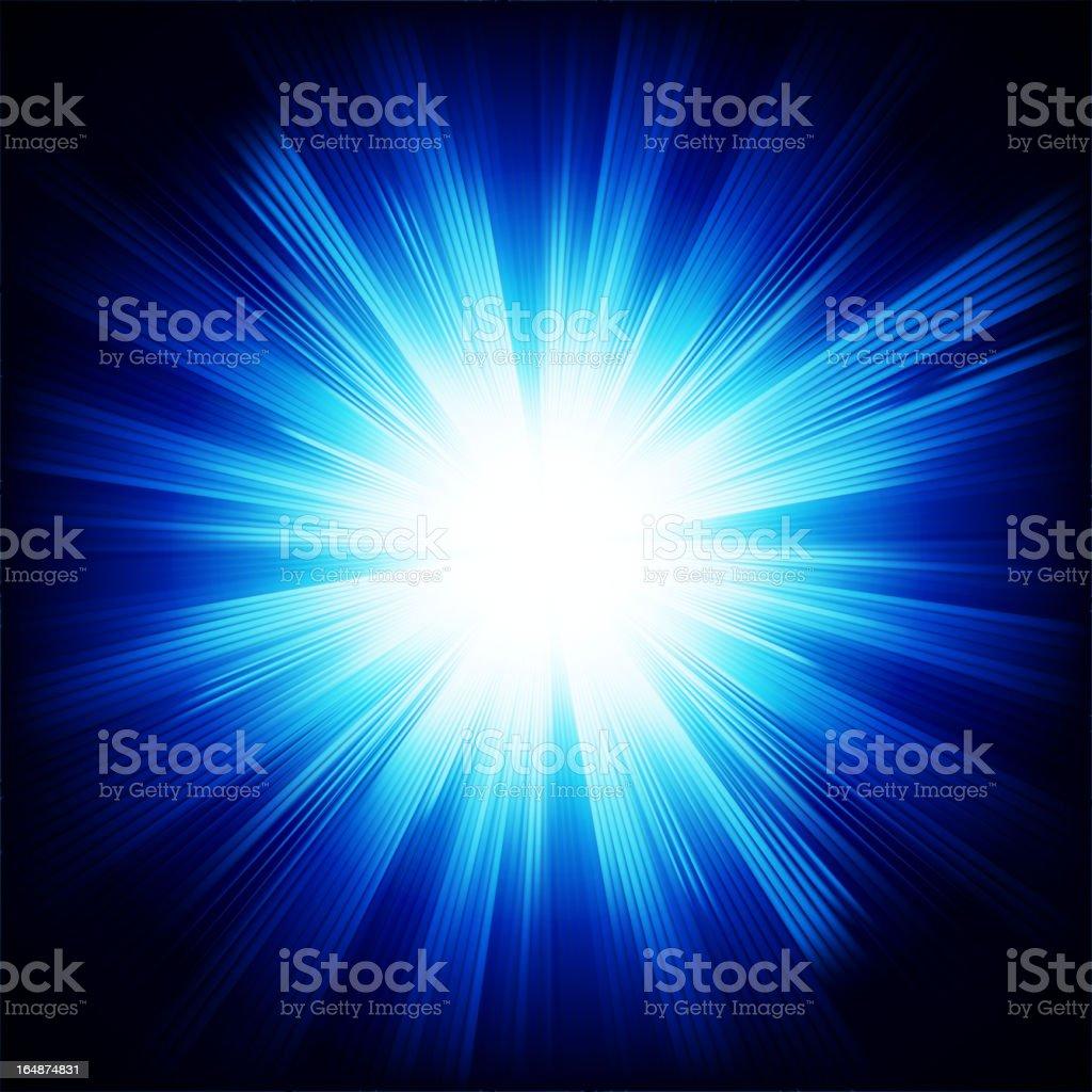 Bright star royalty-free stock vector art