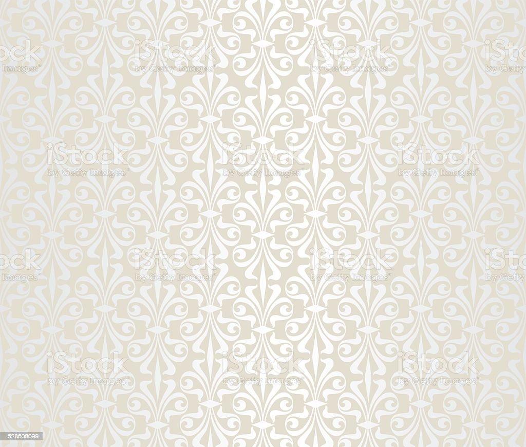 bright wedding vintage wallpaper vector art illustration