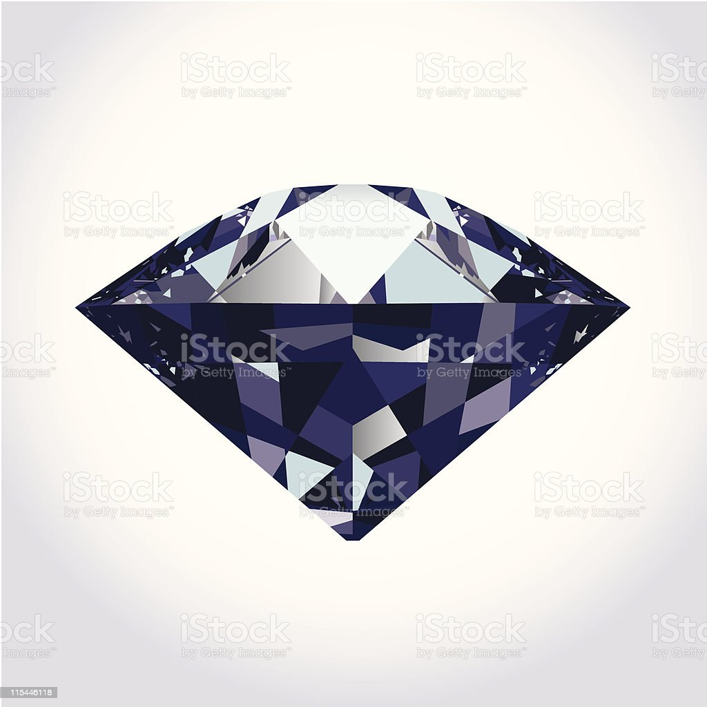 brilliant diamond royalty-free stock vector art