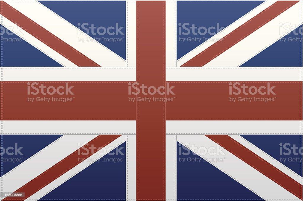 Britain Flag (Vector) royalty-free stock vector art