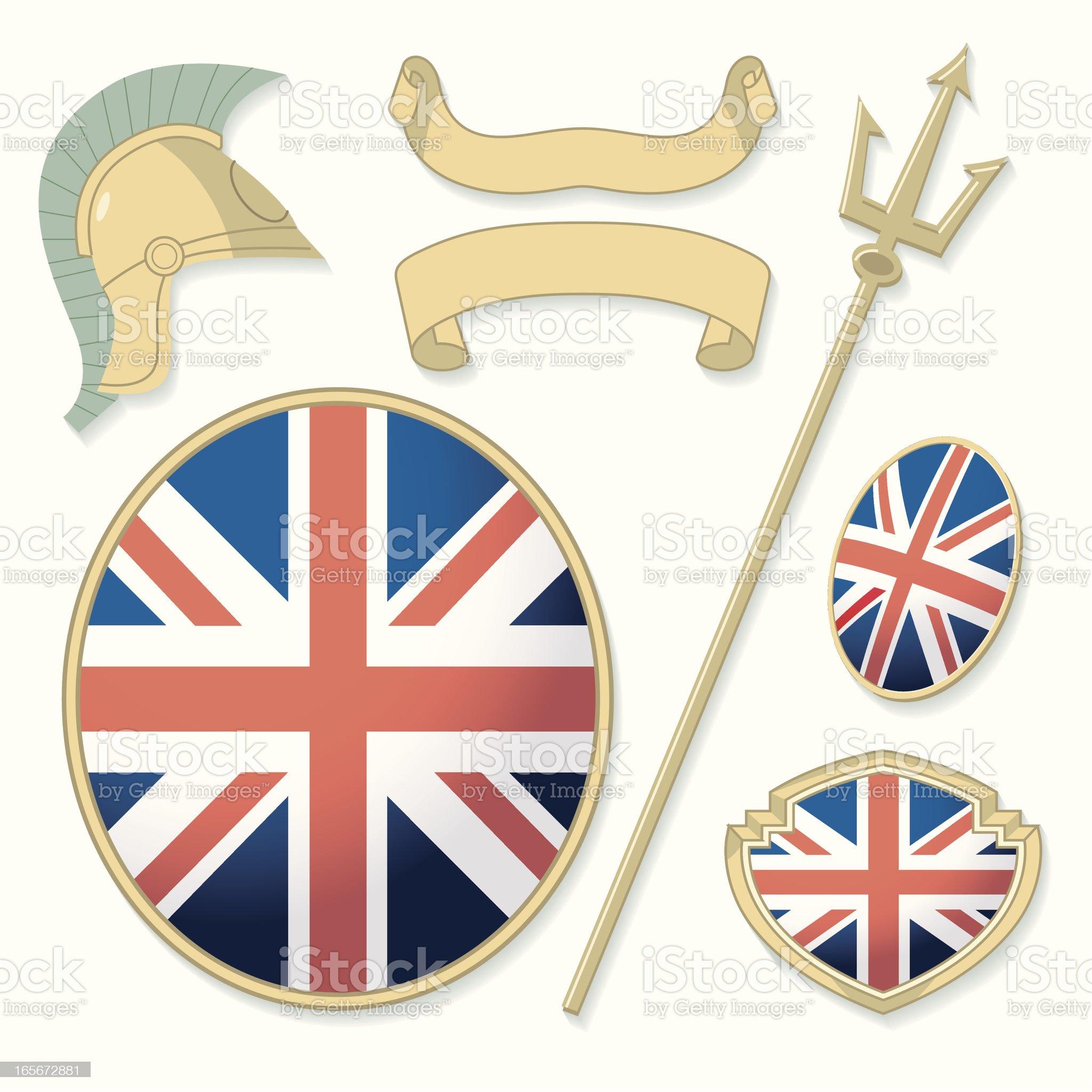Britannic Elements royalty-free stock vector art